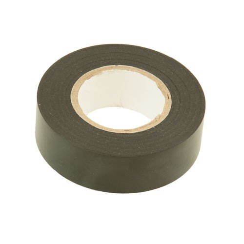 FASTER TOOLS 426 Isolierband Rolle 19 mm x 5 Meter lang grau, PVC Klebeband